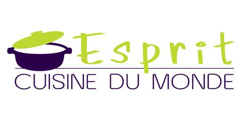 Logo Esprit Cuisine du Monde réalisé par Pantheas à Narbonne
